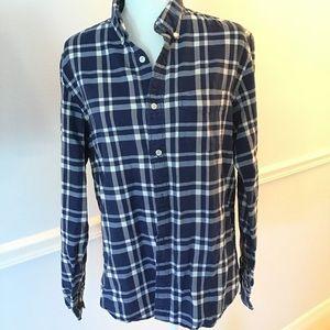 Gap flannel shirt Button med long sleeve
